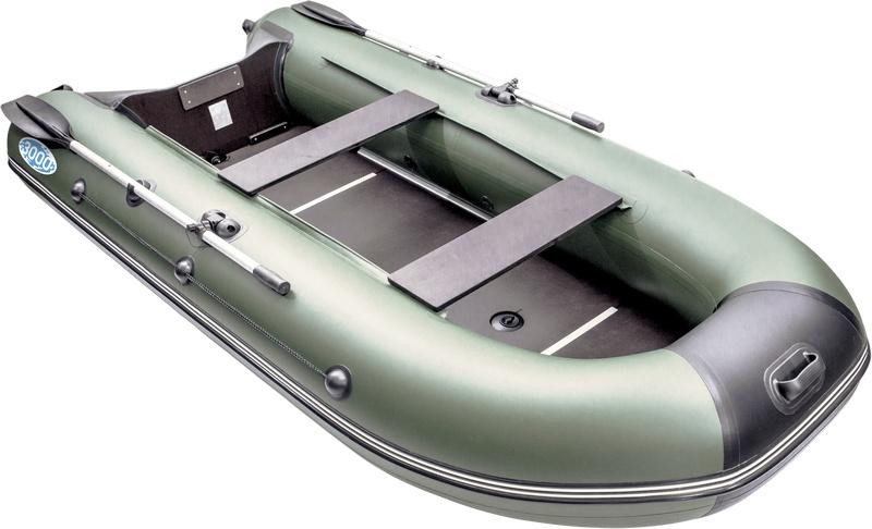 Лодка пвх с жестким полом - сланью