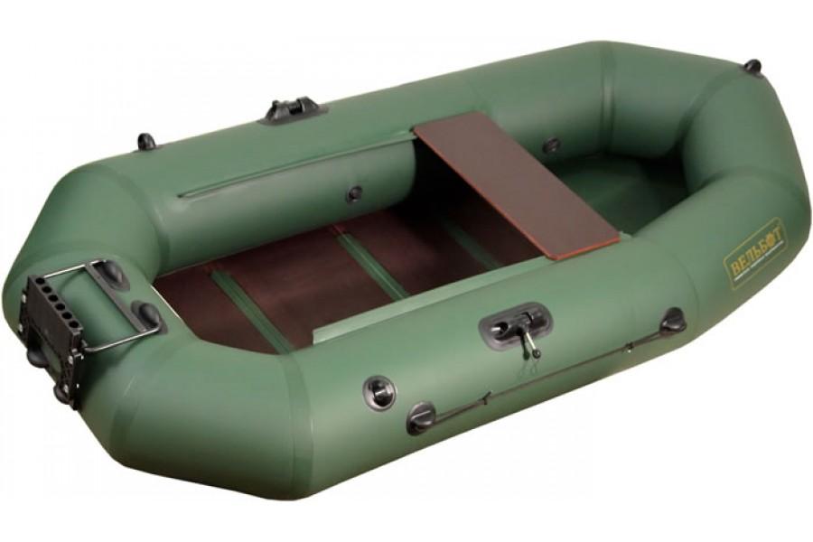 Надувная лодка с навесным транцем