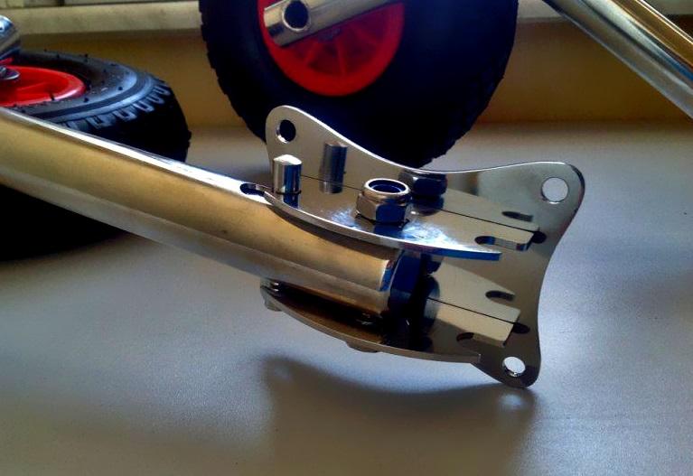 шасси для транцевых колес