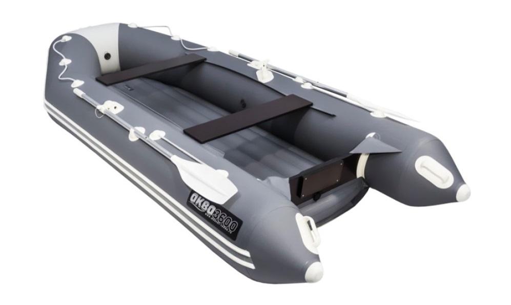 почти лучшая вейтинге Лодка ПВХ Аква 3600 НДНД надувная под мотор
