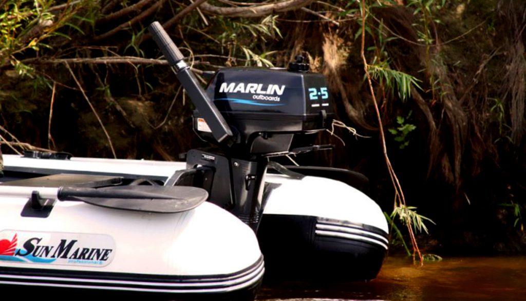 также в нашем рейтинге лодочные моторы от Марлин